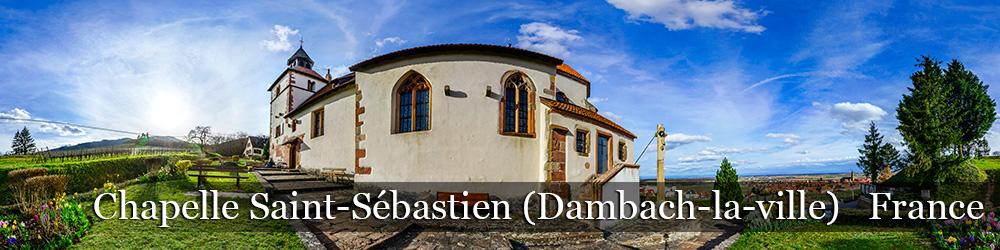 Tour virtuel Chapelle Saint-Sebastien de Dambach-la-ville