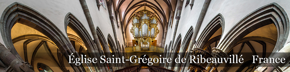 Eglise Saint-Gregoire de Ribeauville
