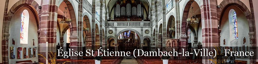 Eglise Saint Etienne - Dambach-la-Ville