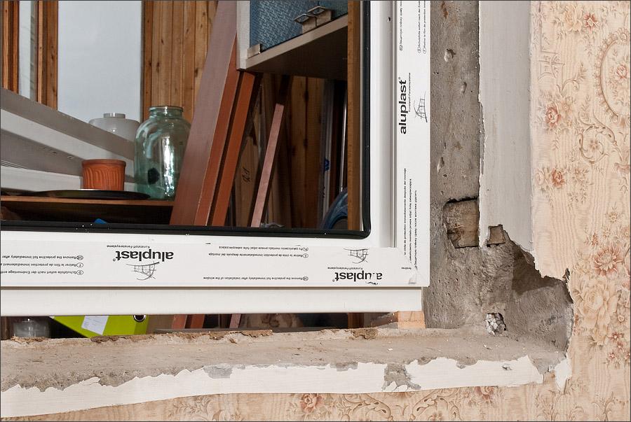 Фотоинструкция по установке пластикового окна.