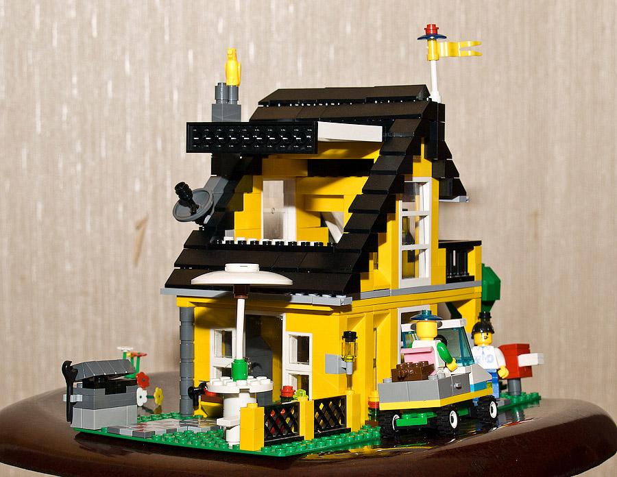 Дома из лего своими руками