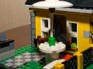 домик из конструктора лего